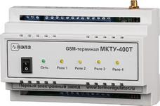 Многоканальный GSM-терморегулятор  МКТУ 400Т