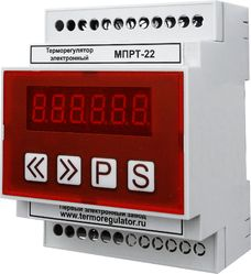 Терморегулятор цифровой 2-канальный МПРТ-22