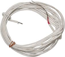 Датчик температуры бескорпусная термопара ТХК (−200…+600°C)  3 метра внержавеющей гильзе