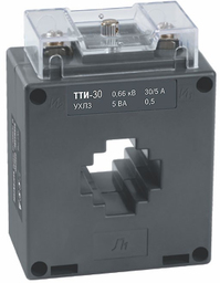 Трансформатор тока ТТИ-30 200/5А 5ВА без шины, класс точности 0,5